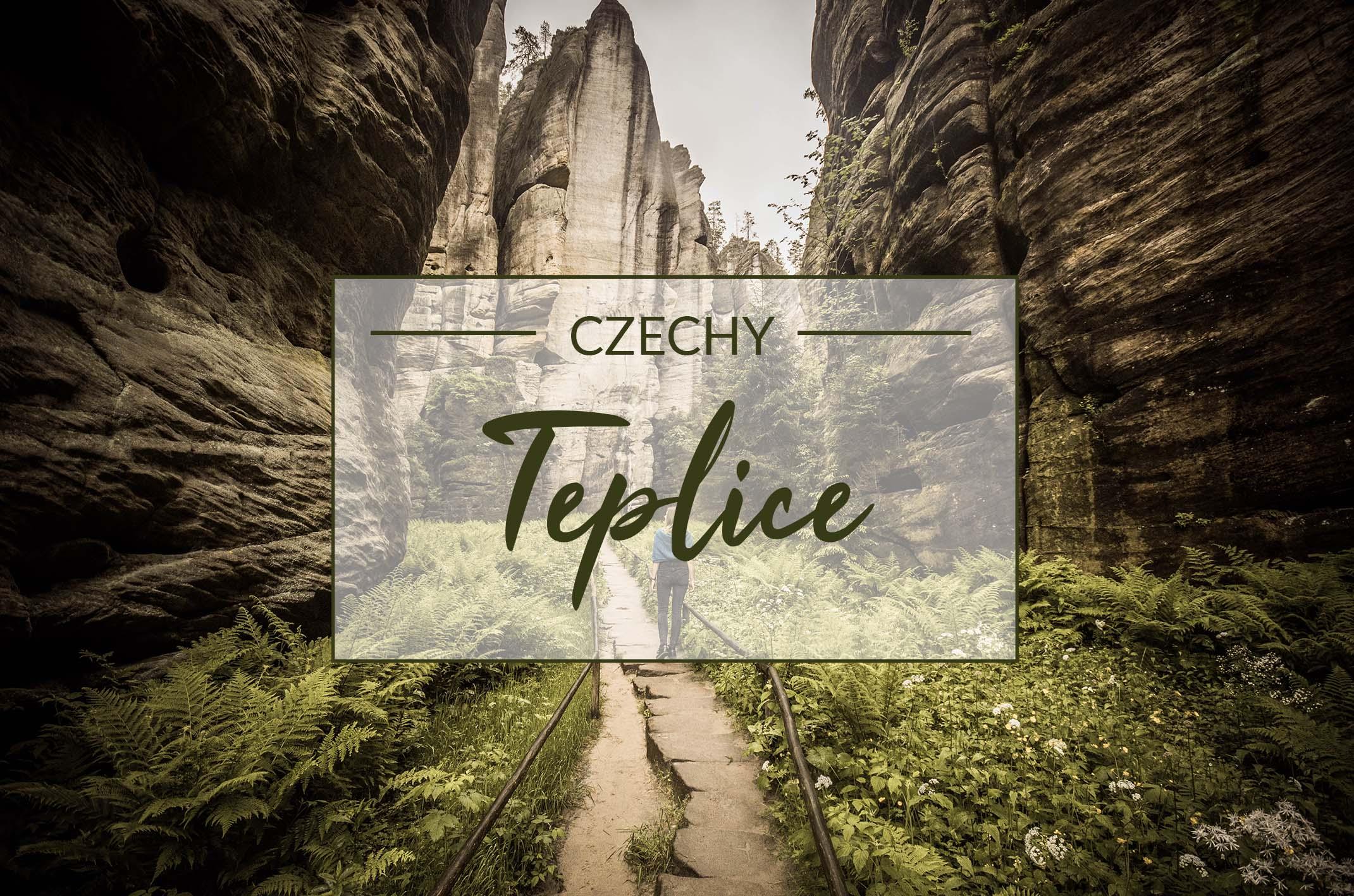 Skalne Miasto w Czechach