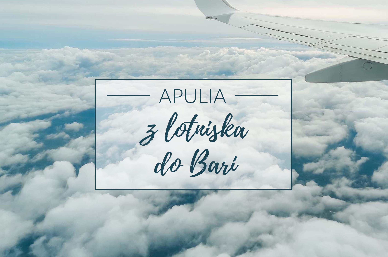 z lotniska do Bari